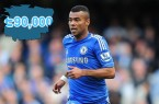 ashley cole fine - twitter tweet