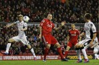 Liverpool vs. Fulham EPL 2012