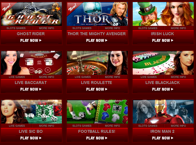 online casino games in malaysia