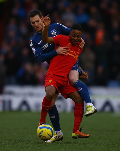 FA Cup-Oldham Beat Liverpool