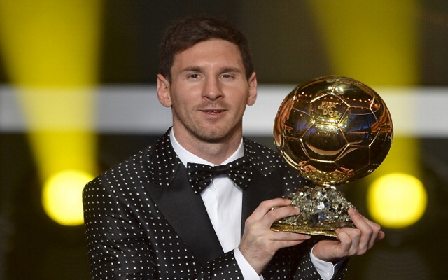 Messi Awarded Ballon d'Or For the Fourth Time