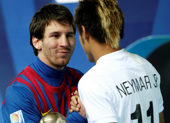 Messi and Neymar Jr - 12Tipster