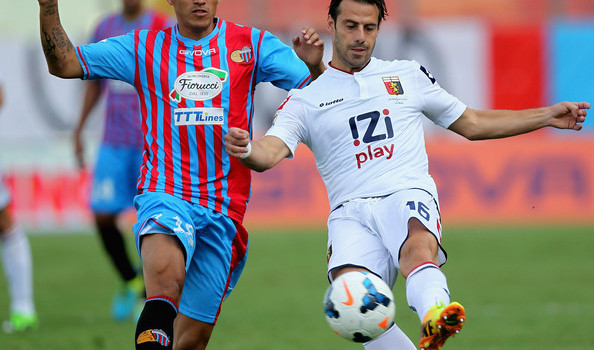 Catania and Genoa