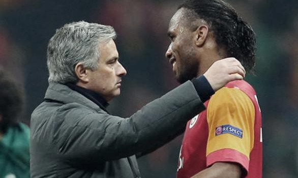 Jose Mourinho and Drogba