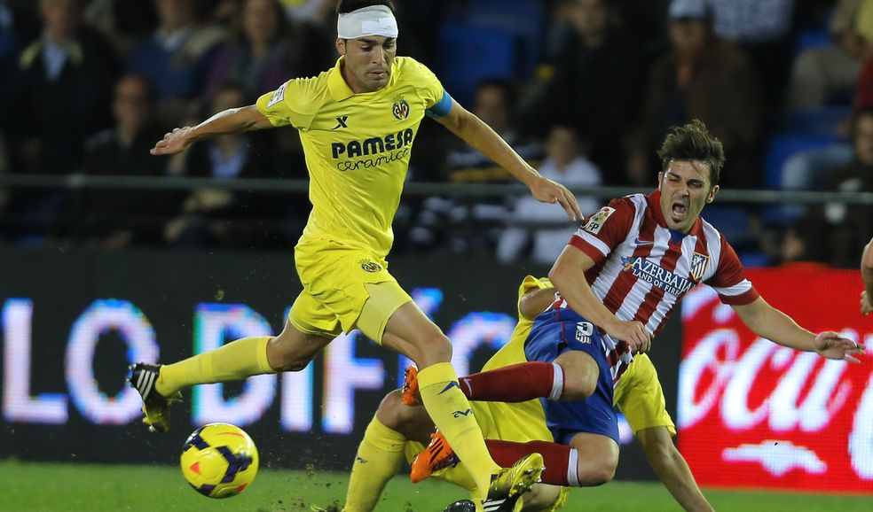 Atletico Madrid and Villarreal