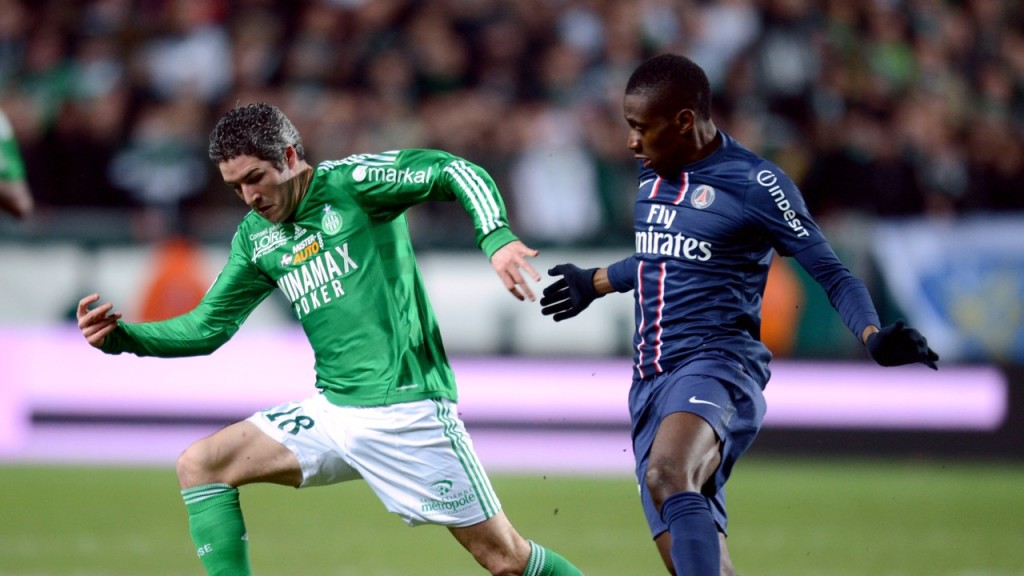 PSG and Saint Etienne
