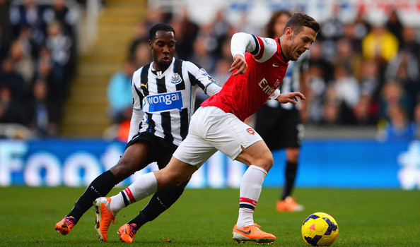 Arsenal and Newcastle United