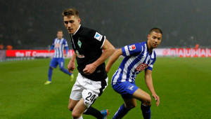 Hertha Berlin and Werder Bremen