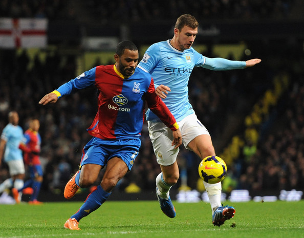 Manchester City and Crystal Palace