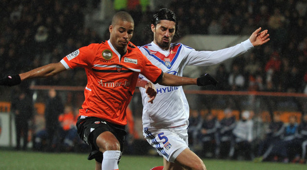 Lyon and Lorient
