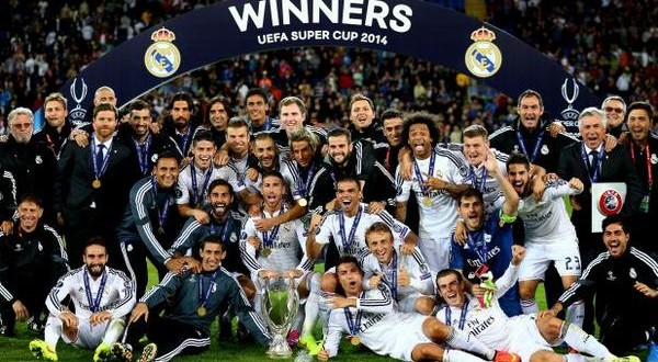 Real Madrid Supercup winner